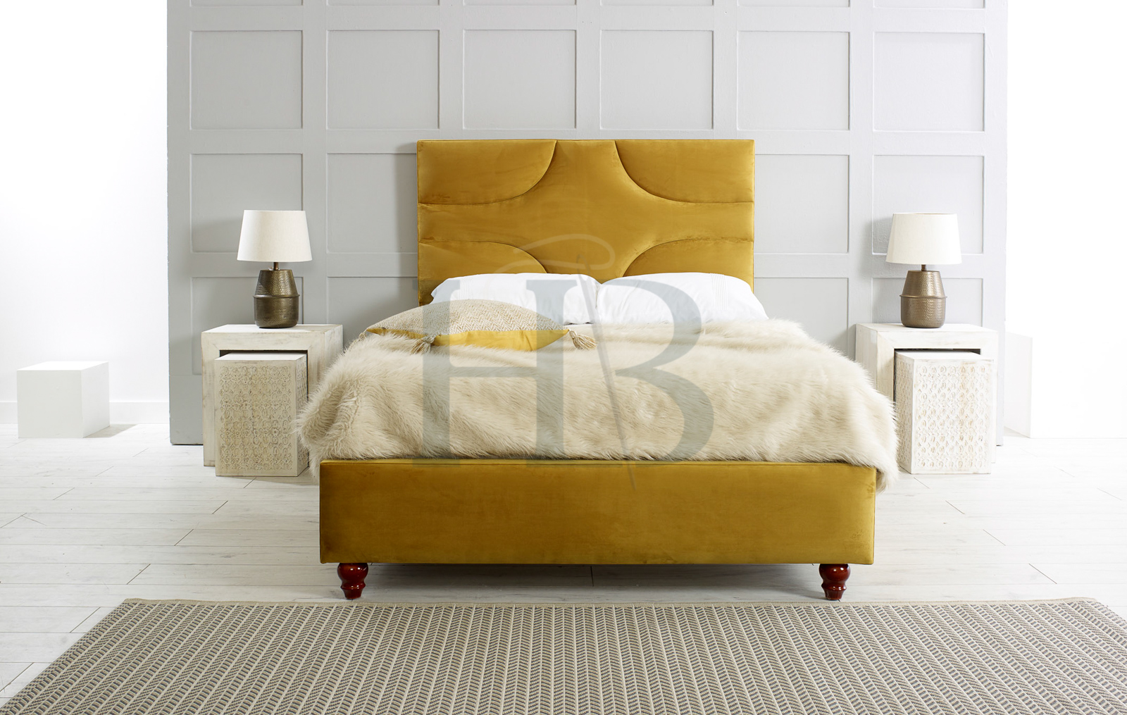 Deep cleaning your upholstered bed frame
