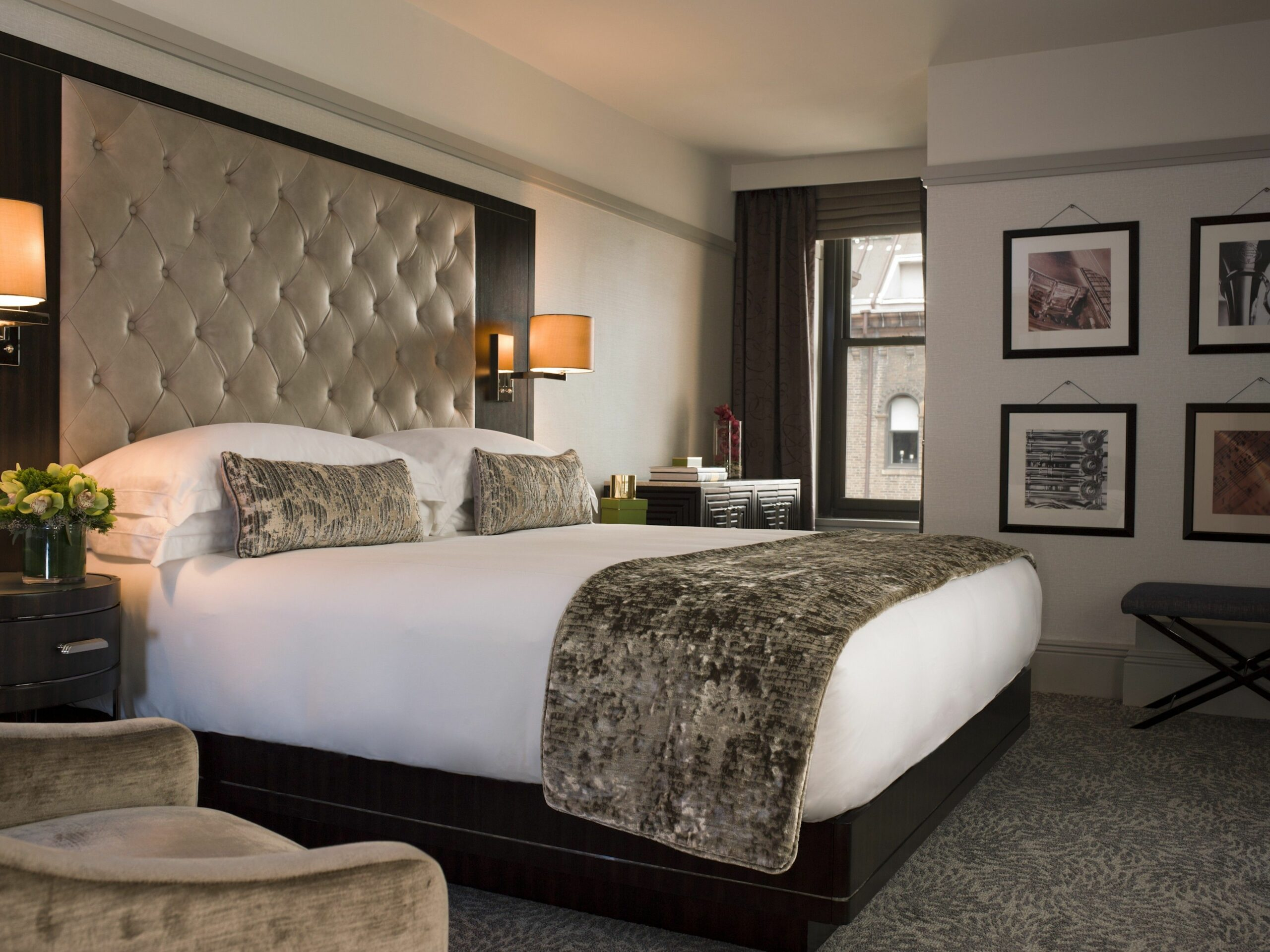 How to Make Your Bedroom Look Like a Hotel Suite